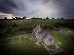 Wharram Percy (Draws_With_Light) Tags: vegetation aerialphotography landscape djiphantom3advanced hills churchyard agriculture scene abandoned church eastridingofyorkshire structures summer camera architecture season drone wharrampercy places fields malton england unitedkingdom gb
