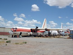 N133HP at Coolidge 2016 (chrysanyo) Tags: usa coolidge c130