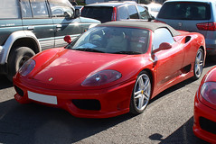 2004 Ferrari 360 Spider 3600cc - Race Retro 2016 - Stoneleigh Park, Coventry (anorakin) Tags: 2004 spider ferrari coventry ferrari360 2016 stoneleighpark raceretro 3600cc