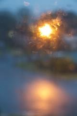 Street light (Dale Gillard) Tags: abstract garden bucketingdown newsouthwales storm sunset road southerncrossuniversity graduation blur coffsharbour nsw streetlight tahleah rain