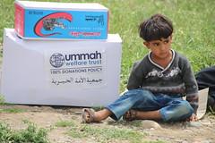 A displaced child in Harir, Iraq (Ummah Welfare Trust) Tags: poverty children war islam iraq relief hunger muslims humanitarian kurdistan العراق welfare humanitarianism ummah عێراق