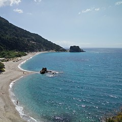 Potoma beach (Louke73) Tags: samos greece beach pebbles bluesea