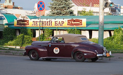 1941 - Buick Super 8 (Jasonito) Tags: paris classic car russia rally olympus retro oldtimer motor  omsk challenge peking 6th omd the 2016    em5   parispeking beijingparis   panasonic14140mmf4058 omdem5