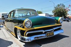 Mooneyes Open House 2016 (USautos98) Tags: ford 1955 hotrod streetrod fairlane kustom