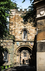 Durham Castle (littlestschnauzer) Tags: durham historical history england north east uk britain castle university 2016 july grand accomodation entrance