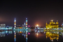 Colors of the Night (Dovid100) Tags: india reflections punjab amritsar goldentemple