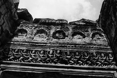 once upon a time (ababh) Tags: cambodia angkor prahkhamapsarasreliefbas relief fragment shadowplay