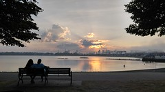 0717161942b_HDR (Michael C. Meyer) Tags: castle island boston ma carson beach southie south dusk