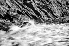 Laguna Beach - Surge (www.karltonhuberphotography.com) Tags: 2016 abstract bw beach blackandwhite cove details energy flowingwater form horizontalimage karltonhuber lagunabeach monochrome motion naturalworld nature nosky outdoors patterns powerful rockyshore seascape shape shoreline shorelinerocks silkywater southcounty southerncalifornia splash surge texture theoc tide woodscove