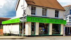 Heathfield Ironmongers. (grassrootsgroundswell) Tags: shopfront shopwindow shop heathfield sussex ironmongers hardwarestore