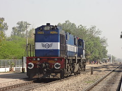 RTM WDM3D Light in LHF (Jai BGKT) Tags: delhi side western mp chugging northern heading past nr railways towards wr pradesh madhya rtm palam accelerating 11423 lhf smdp ratlam shahabad wdm3d mohmmadpur