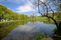 Kansas University Potter's Pond (brent flanders) Tags: campus lawrence nikon ks campanile ku kansas mountoread d7000 nikond7000 nikon1024mmf3545gedafsdxnikkorwideanglezoomlens