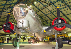 A Boeing B17G Fortress bomber at the RAF Museum, Hendon (Anguskirk) Tags: uk england london wwii airplanes historic american bomber militaria secondworldwar rafmuseumhendon royalairforce militaty boeingb17gfortress