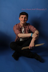 Photoshoot with Cam (LauraNimmoSmithPhotography) Tags: portrait music college studio drums photography model portraiture drummer drumsticks snare