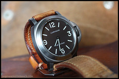 IMG_9129 (bakelite1) Tags: brown dial pam 116 chocolat panerai titane luminor bettarini pam116