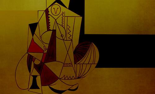 """Odaliscas (Mujeres de Argel) yuxtaposición y deconstrucción de Pablo Picasso (1955), síntesis de Roy Lichtenstein (1963). • <a style=""""font-size:0.8em;"""" href=""""http://www.flickr.com/photos/30735181@N00/8746883753/"""" target=""""_blank"""">View on Flickr</a>"""