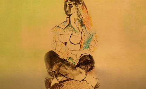 """Odaliscas (Mujeres de Argel) yuxtaposición y deconstrucción de Pablo Picasso (1955), síntesis de Roy Lichtenstein (1963). • <a style=""""font-size:0.8em;"""" href=""""http://www.flickr.com/photos/30735181@N00/8746885879/"""" target=""""_blank"""">View on Flickr</a>"""