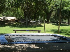 TRAMPOLINE (AreenaRiversideResort) Tags: camping restaurant waterfront swings slide trampoline caravan ablution sites wolleyball areenariversideresort