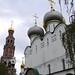 P1020568 Russie, Moscou, le monastère Novodievitchi : la cathédrale de la Vierge-de-Smolensk ou Notre-Dame-de-Smolensk (Smolenskoï Bogomateri sobor)