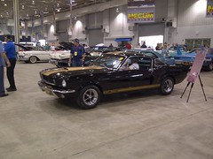 '66 Shelby GT350H,  -- Sold (artistmac) Tags: auto black ford car gold automobile auction indianapolis performance rental indiana 1966 66 shelby hertz mustang v8 musclecar supercharger paxton fastback in 289 gt350 gt350h mecum
