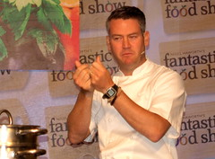 Chef Colin McGurran at Nigel Haworth's Fantastic Food Show - 16 (Tony Worrall Foto) Tags: show uk england food man celebrity cooking make festival fun demo northwest north restaurants tasty eaten blackburn event chef taste venue celeb nigel michelin reviews eatingout foodie asl chefs haworth lancs foodphotography taster celebritychefs 2013tonyworrall nigelhaworthsfantasticfoodshowlancashirefoodfestival