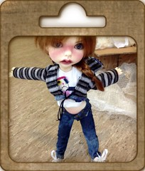Hello! (doll a la carte) Tags: opening fiona msd lasher uploaded:by=flickrmobile flickriosapp:filter=nofilter