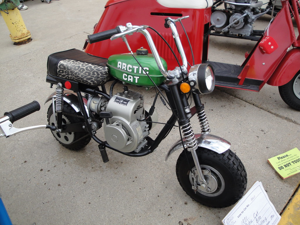 71 Arctic Cat Mini Bike by DVS1mn, on Flickr
