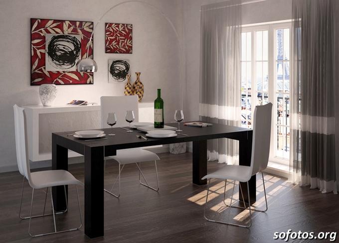 Salas de jantar decoradas (143)