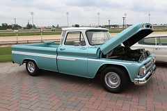 1964 Chevy Pickup (Bill Jacomet) Tags: auto show park chevrolet industry car race truck construction texas sam houston pickup 64 chevy 964 2013