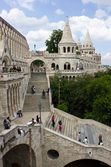 Fisherman's Bastion (Five Second Rule) Tags: stairs hungary budapest escher budacastle fishermansbastion