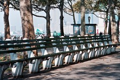 Battery Park Bench (richwall100) Tags: newyork bench seat batterypark