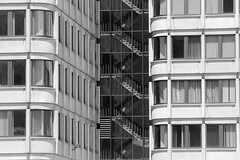 IMG_2754 (kz1000ps) Tags: sculpture white black building glass boston architecture stairs john real office construction downtown estate center jfk government federal development kennedy massachusets modernist fitzgerald brutalist