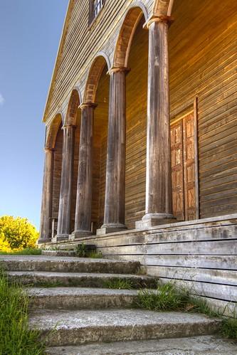 Chiesa di VillipulIi Isola di Chiloé