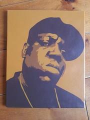 biggie in brown (casperinc) Tags: music brown art stencil expo spraypaint hip hop biggie notorious casperinc flickrandroidapp:filter=none rottetdam