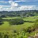 La valle sceso dalle montagne di Lanquin, direzione Fray Bartolomé