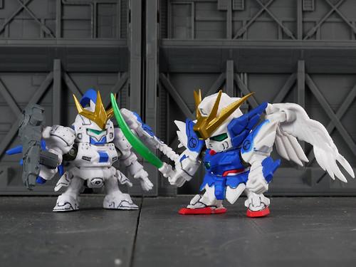 Tallgeese III VS. Wing Gundam Zero  Ver. EW