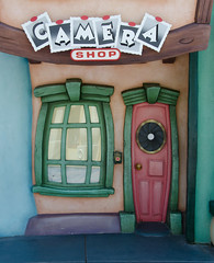 Toontown Camera Shop (Adam's Attempt (at a good photo)) Tags: california vacation nikon disneyland cartoon disney toontown camerashop lr4 d7000 toontowncamerashop