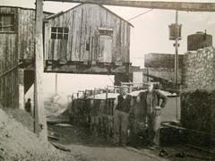 Carnlough Limestone railway, 1950s (Robinson_Luzo) Tags: ireland people work railway limestone oldphotograph narrowgauge carnlough antrim