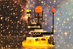 Lego Solar System Mini (Maxi Figure) Tags: sun model lego space science technic planet planets orrery