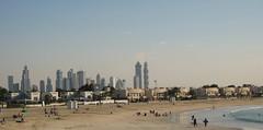 Dubai (not at her desk) Tags: travel sea beach dubai uae middleeast dubaiskyline