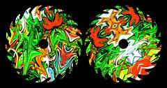 Sep 29 (joybidge) Tags: canada art colourful ornate exciting kaleidoscopic detailed alteredimage fractallike veganartist naturepatternscanada philscomputerart magicalgeometry