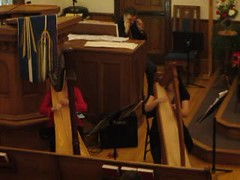 Joy to the World and Bell Carol - Video (Pictures by Ann) Tags: christmas holiday church video advent performance tradition harp sophia clc bellchoir joytotheworld countdowntochristmas bellchorus