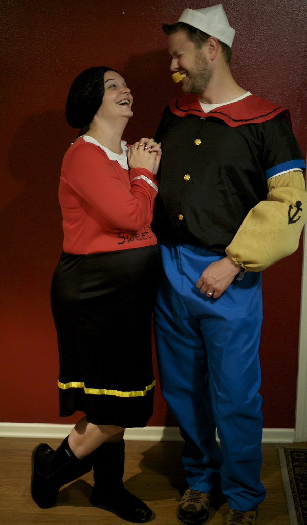 The worlds newest photos of halloween and popeye flickr hive mind my popeye donna0622 tags halloween costume nikon couple oliveoyl popeye d700 solutioingenieria Image collections