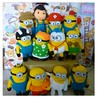 Minions Minions (Lena Chiok) Tags: toy pattern handmade crochet gift amigurumi minion despicableme