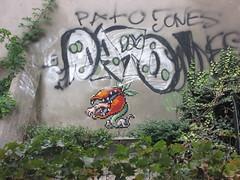 Space Invader like (tofz4u) Tags: streetart paris tile graffiti mosaic tag spaceinvader spaceinvaders pato carnivore mosaque artderue 75011 plantecarnivore
