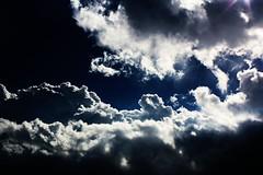 infinity (Nicole V. Photographer ) Tags: blue sky cloud white color clouds dark nuvole infinity cielo infinito far distanza