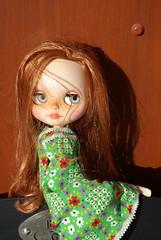 Vintage dress, love her!!