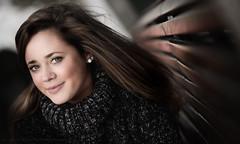 Lisa (Sylvain_Latouche) Tags: portrait paris ambientlight lisa 85mmf14 salondelaphoto nikond800 sylvainlatouche lisalemée