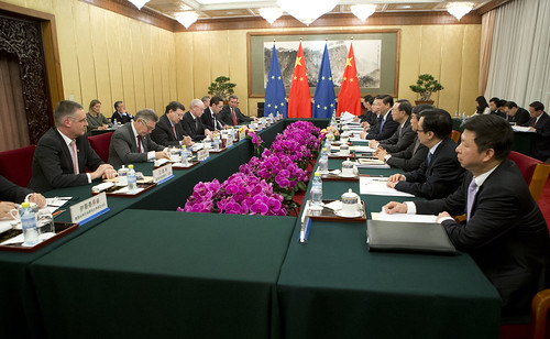 Meeting with Chinese President Xi Jinping