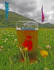 FyneFest 2013 (RoystonVasey) Tags: music glass field festival canon real scotland buttercup flag ale highlander powershot loch clover fest hs fyne kendrick 2013 sx260 fynefest